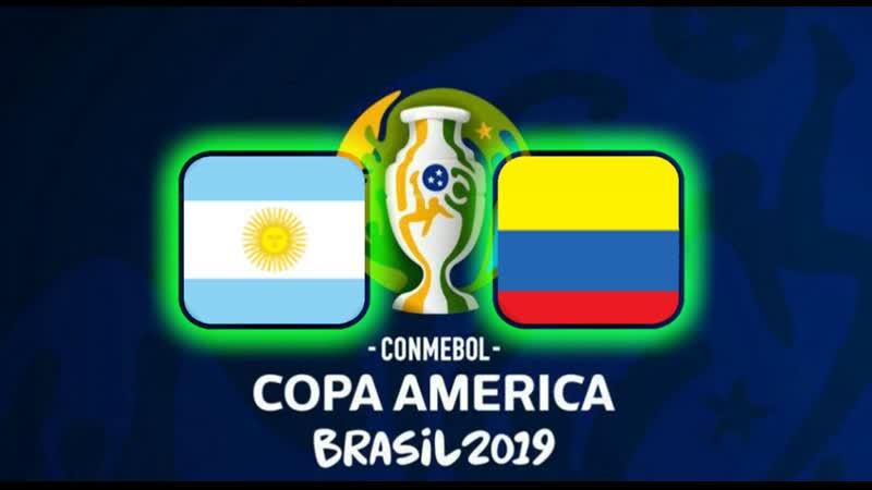 Copa América Brasil 2019 Argentina Colombia