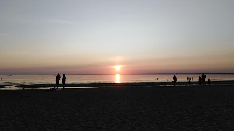 Снимаю закат 05.06.19.Дубковский пляж.