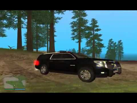 Обзор мода Chevrolet Suburban 2016 ФСБ v2 в GTA San Andreas