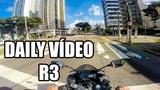 YAMAHA YZF R3 2019 DAILY VIDEO LANTERNA VERDE