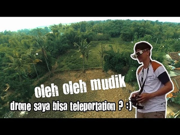 Back to nature ( maiden di kampung ) with drone racing