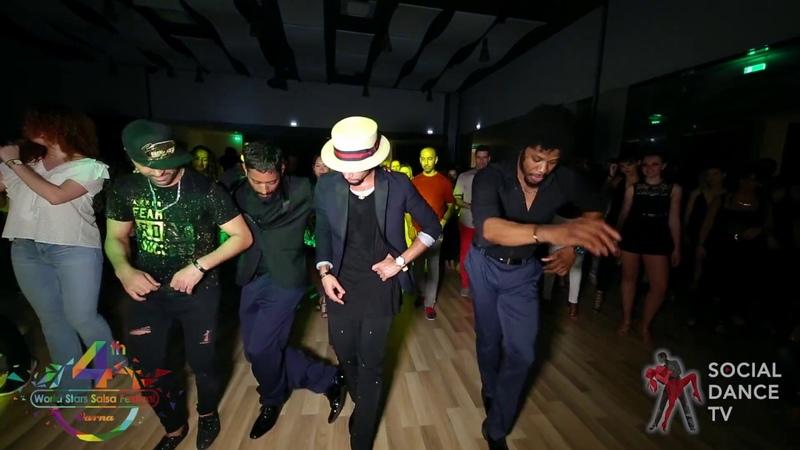 Eddie Torres Jr. , Terry , Fadi , Srini - Animation | 4th World Stars Salsa Festival
