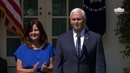 Vice President Pence and The Second Lady Participate in the National Day of Prayer Service