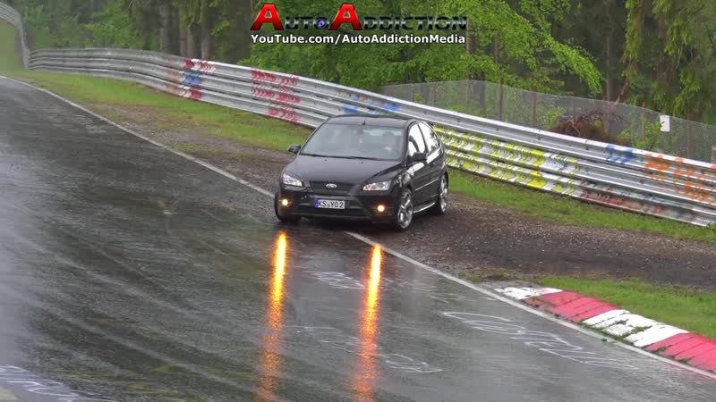 THESE DRIVERS BARELY AVOIDED CRASHING ON THE NÜRBURGRING Nordschleife Luckiest Drivers 2018