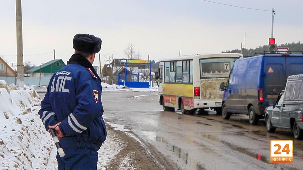 В Волжске сотрудники Госавтоинспекции проверят водителей на соблюдение правил перевозки детей