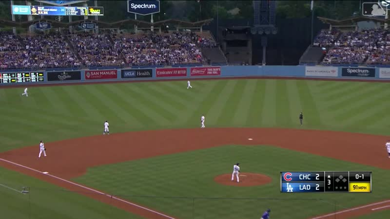 0614 - Chicago Cubs @ Los Angeles Dodgers - RS - Condensed Game - MLB - 2019