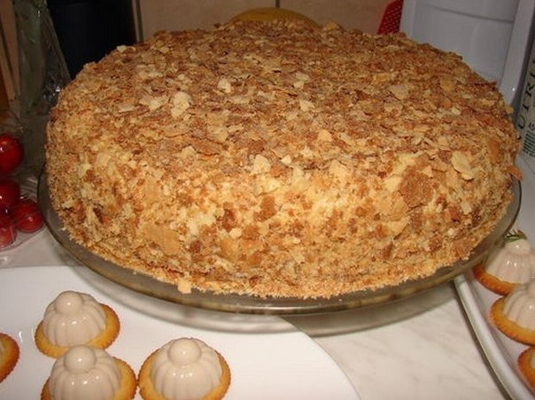 Торт Наполеон, который готовится за пол часа!