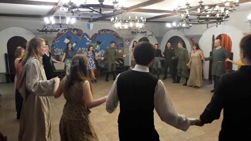 Бранль Шарлотта Вечар старадаўніх танцаў у МПДіМ