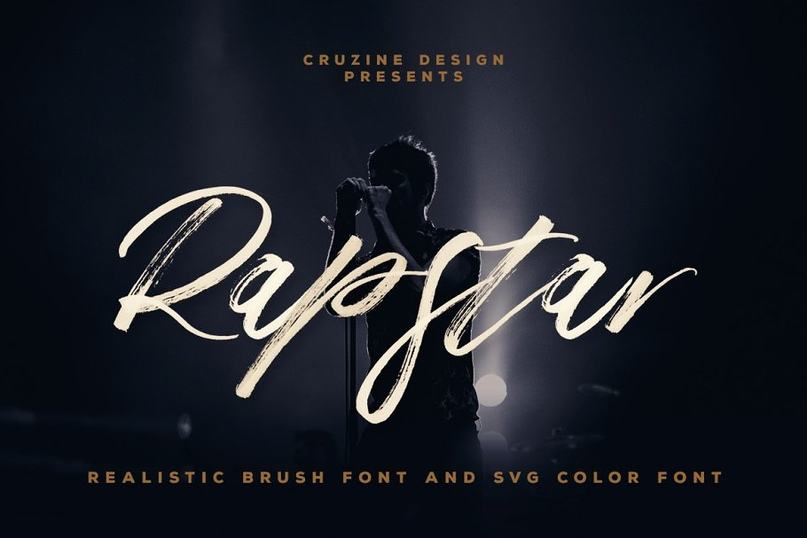 Rapstar_Brush___SVG_Font_.zip