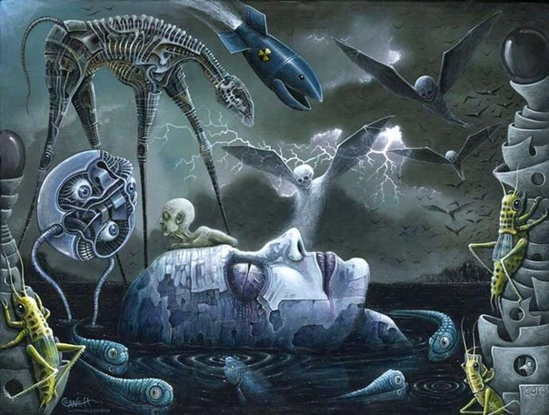 Красочный мрак художника Роберта Стивена Коннетта