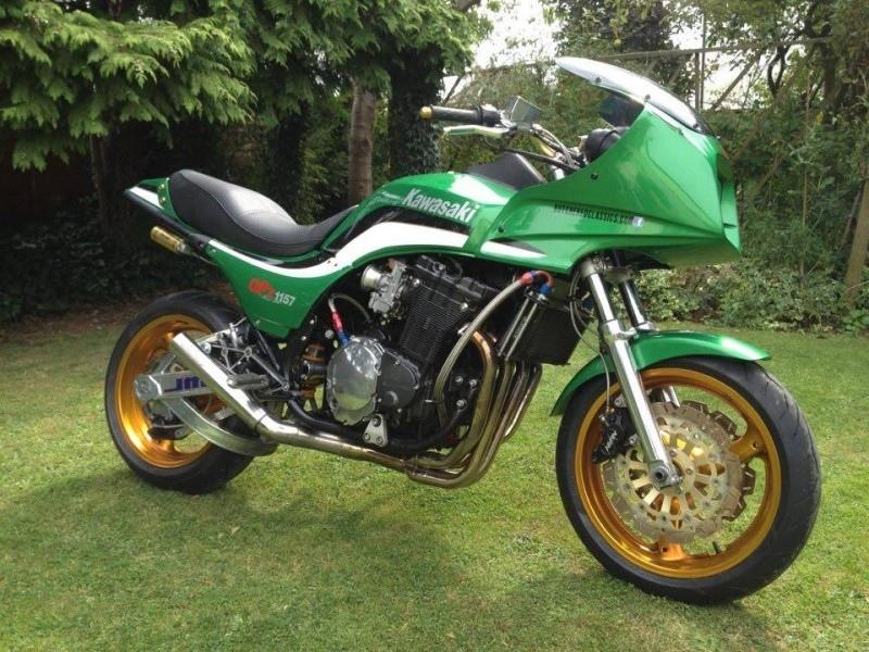 Butchered Classic: кастом Kawasaki GPZ1157