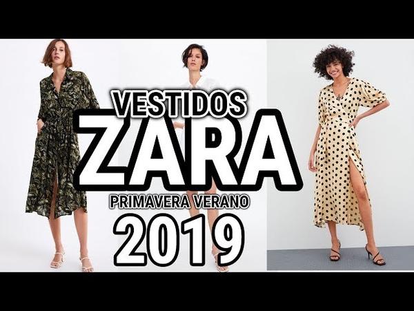 Vestidos de MODA ZARA / Novedades zara 2019 PRIMAVERA VERANO / Fashion Love