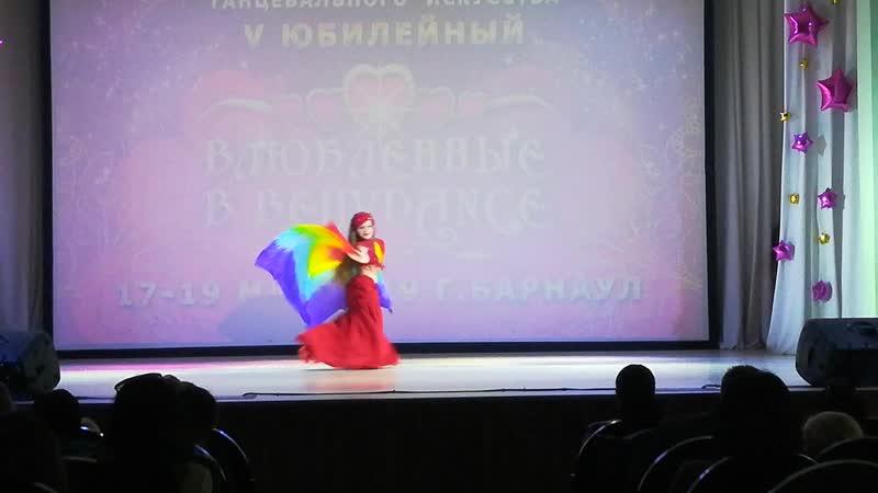 Горбунова Анна Дети 8-9 лет классика 1 место ❤Влюбленные в Bellydance 17-19мая 2019 г.Барнаул❤