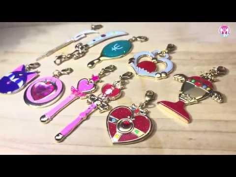 💀USJ Sailor Moon Charm Collection 2019