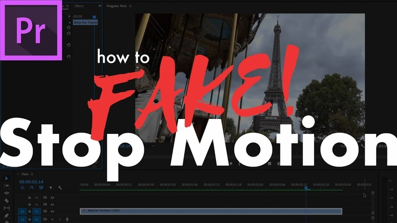 How to Fake Stop Motion in Adobe Premiere Pro