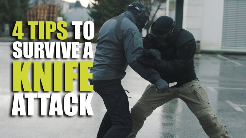 How to survive a knife attack | 4 essential tips