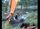 купание в ковше, Сахалин 2010год