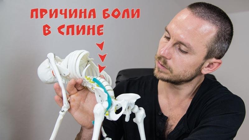 БОЛИТ СПИНА в области поясницы 🔴 Триггерные точки в подзвдошно-поясничной мышце (ППМ) ⭐ SLAVYOGA