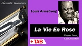 La Vie En Rose - Harmonica TAB - Михаил Гапак - Seydel Saxony