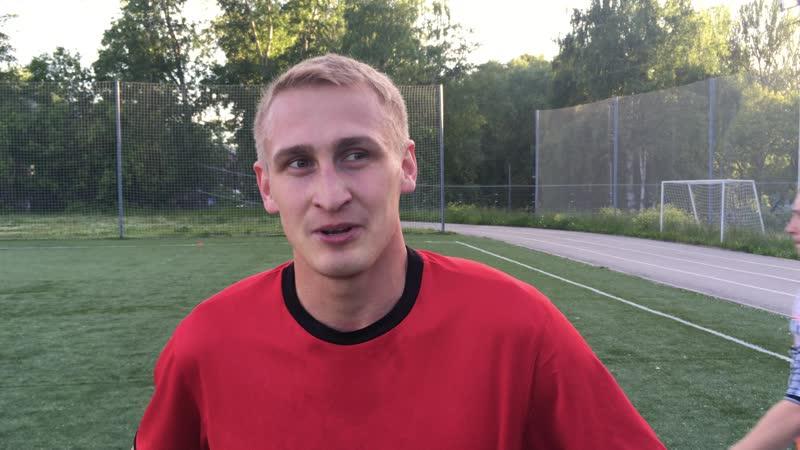 Сапожников Роман Атлетик интервью после победы