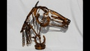 WELDED RECYCLED SCRAP METAL ART SCULPTURE MINI PORTFOLIO BY ROOSTERS CREATIONS (SCOTLAND)