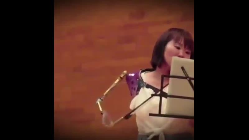 Как же сильна человеческая воля.... 👏👏😍😍👏👏 👉 скрипач: Манами Ито