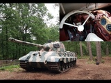 DRIVING THE KINGTIGER, FRONTLINE INSIDE, DRONE, ALLROUND VIEW, OFFROAD, SOUND