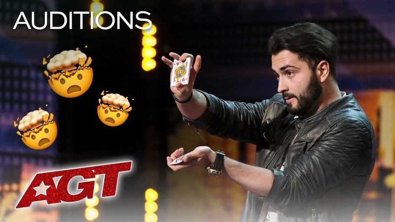 HOW Did Sos Do It! Magician Pulls Cards Out Of Thin Air - Americas Got Talent 2019