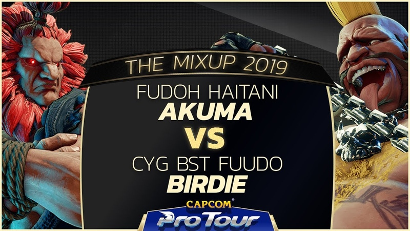 FUDOH Haitani (Akuma) vs CYG BST Fuudo (Birdie) - The MixUp 2019 - Top 8 - CPT 2019