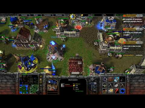 BNET Warcraft 3 Darkness vs live playing