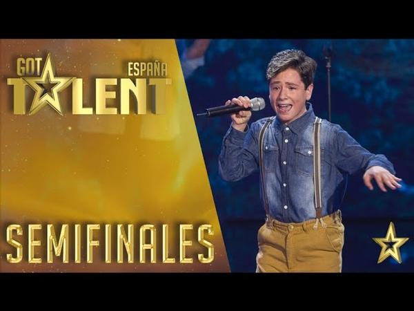 Pedro Pablo Martinez ha encantado con su versión de 'Sueños rotos' | Semifinales 3 | Got Talent España 2016