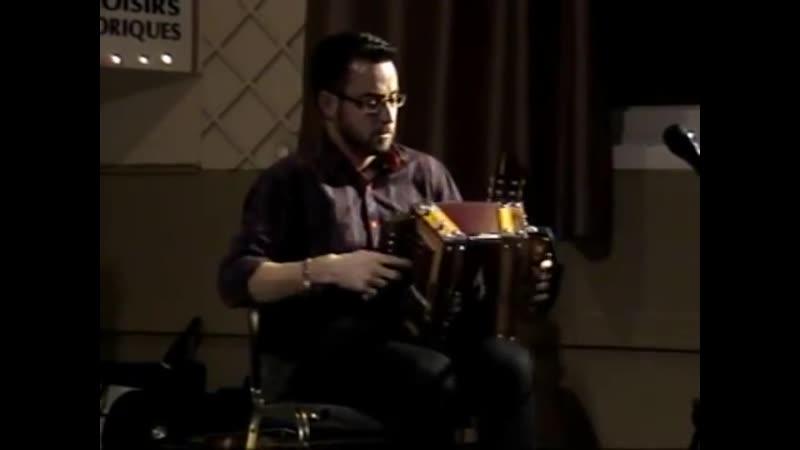 Гармонист Éric Gagné (Канада) La galope de la côte sud (Квебек, 2015)