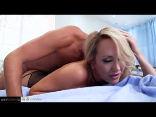 Keiran Lee & Brett Rossi [ In stockings,Чулки &  Mothers / Pussy, Doctor, Shaved, Cumshot in mouth, In clothes, In pantyhos