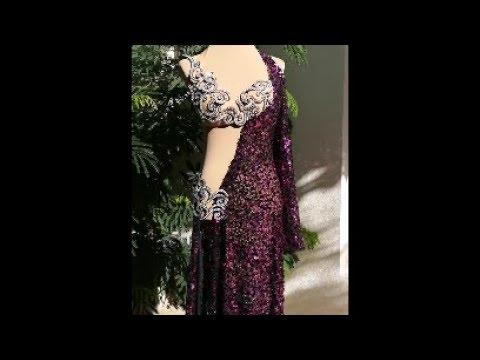 Fantasy dress. Belly dance costume by Sufel Boutique. ベリーダンス衣装