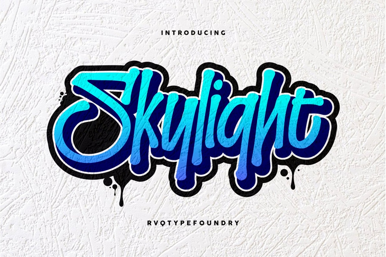 Шрифт - Skylight