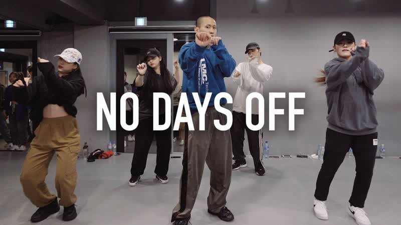 1Million dance studio No Days Off - Reddy, YunB Sway D Enoh Choreography