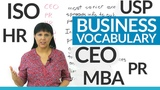 Do you know these business abbreviations CEO, Inc., Ltd., HR...