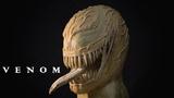 Скульптура Венома из пластилина Venom Sculpture Timelapse
