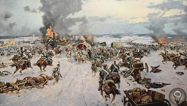 РУССКАЯ АРМИЯ НА ГРАНИЦЕ С ЕВРОПОЙ ЗИМА 1812- 1813 г.г.