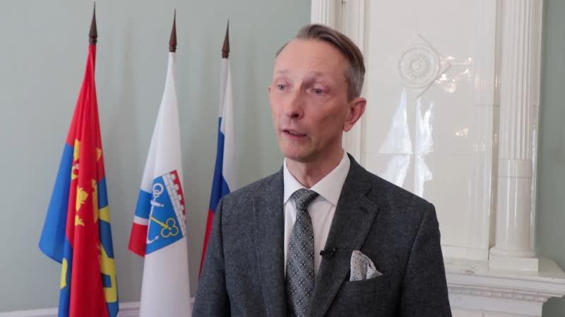 Зачем приезжал в Выборг консул Эстонии в Санкт Петербурге