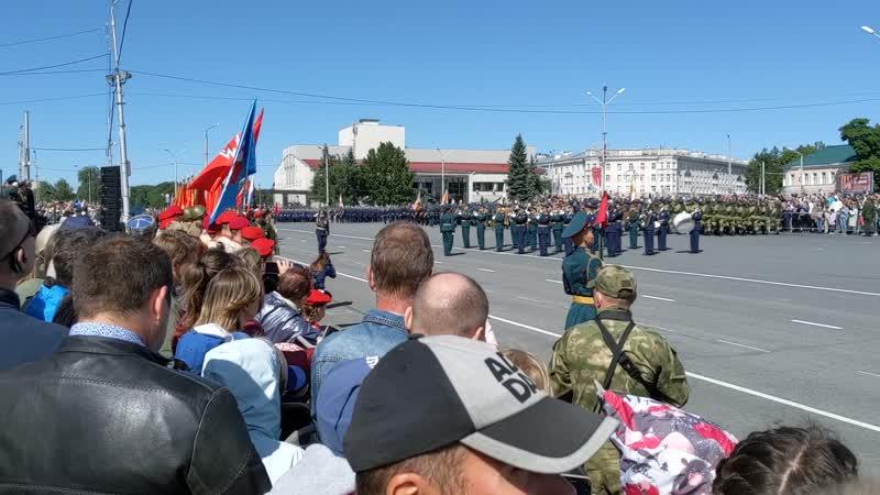 Военный парад г.Петрозаводск 29.06.2019