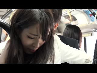 Sw-483 - dressed in a black pantyhose ol molested in a crowded bus 8.1080p