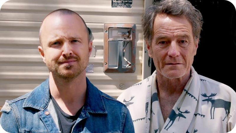 Aaron Paul Discovers Bryan Cranston Living in Breaking Bad RV Omaze