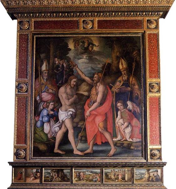 ФРАНЧЕСКО УБЕРТИНИ. acchiacca. Франческо Убертини.(1494 - 1557))Bacchiacca родился в Борго Сан Лоренцо, недалеко от Флоренции. Он был также известен как Bachiacca или Bacchiacca, Francesco