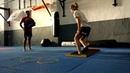Entrenamiento funcional de Kickboxing - Técnica de pierna