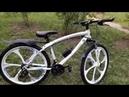 Обзор велосипеда на литых дисках BMW