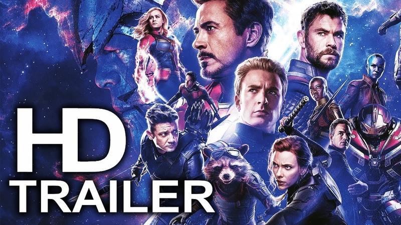 AVENGERS 4 ENDGAME Assembled To Fight Thanos Trailer NEW (2019) Marvel Superhero Movie HD