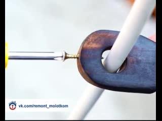 Самоделка для разреза провода 😊✌🏻