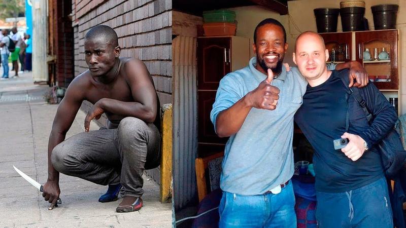 ПРИЕХАЛ В САМЫЙ ОПАСНЫЙ РАЙОН ЮЖНОЙ АФРИКИ Бандитские районы и трущобы Йоханнесбурга ЮАР