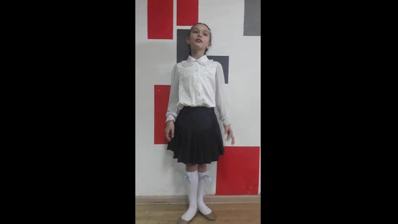 № 29 - Азарова Алиса, 9 лет, стихотворение Зимний вечер